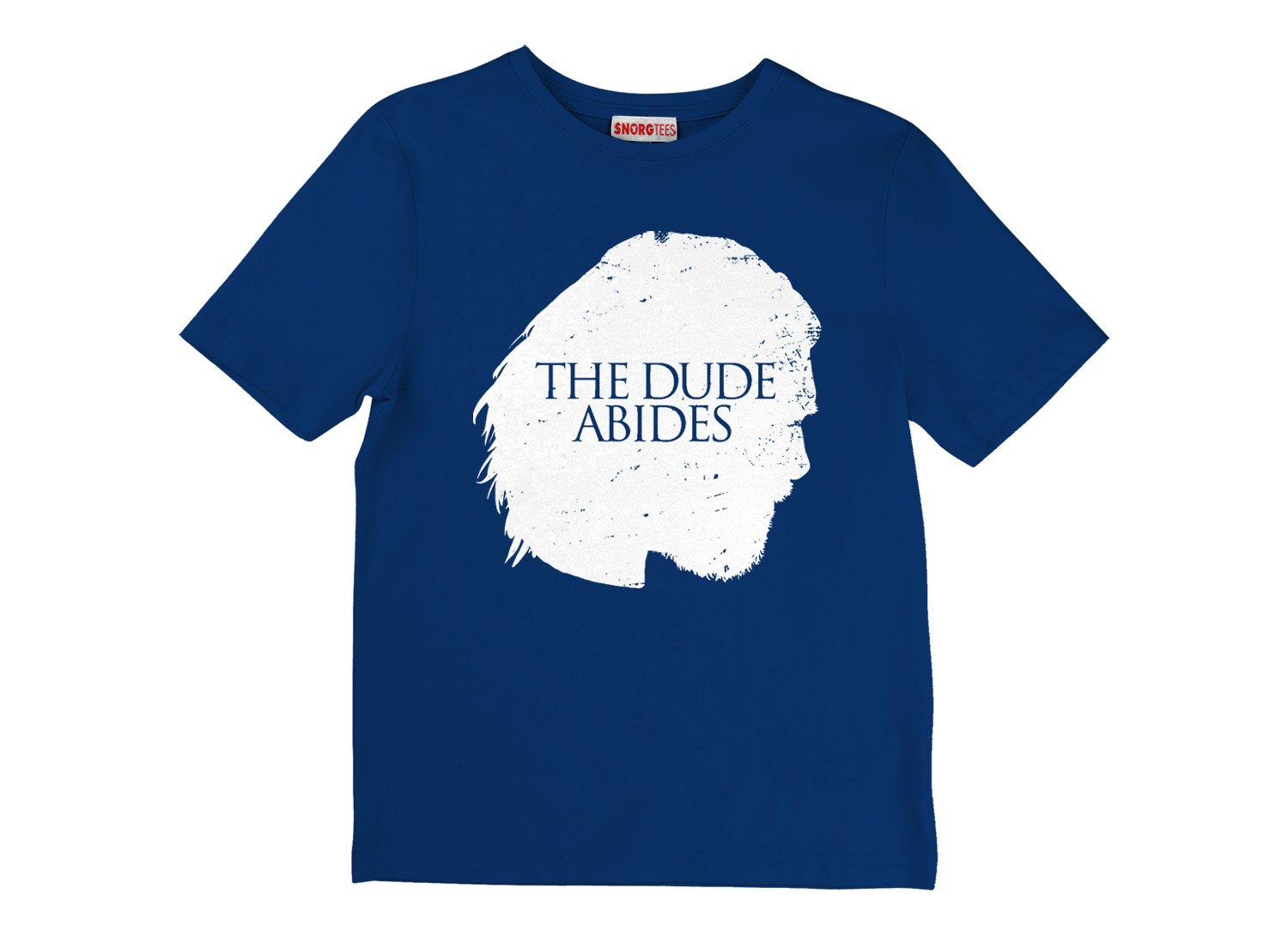 The Dude Abides on Kids T-Shirt