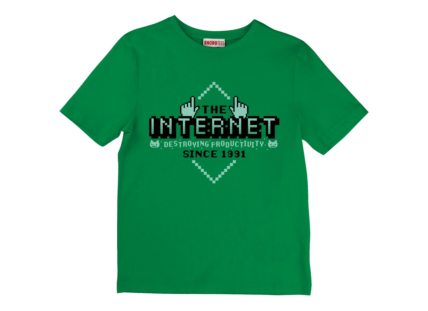 The Internet on Kids T-Shirt