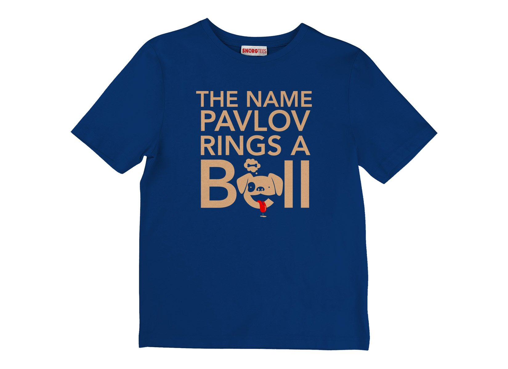 The Name Pavlov Rings A Bell on Kids T-Shirt