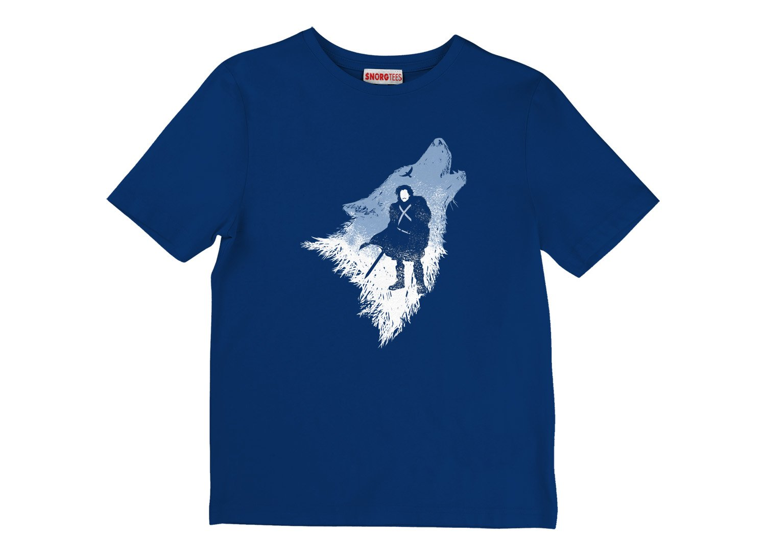 The Wolf on Kids T-Shirt