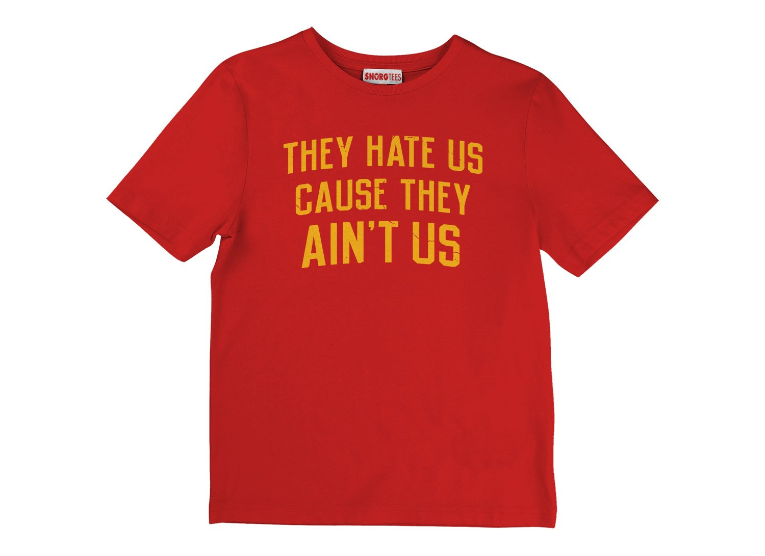 They Hate Us Cause They Ain't Us on Kids T-Shirt