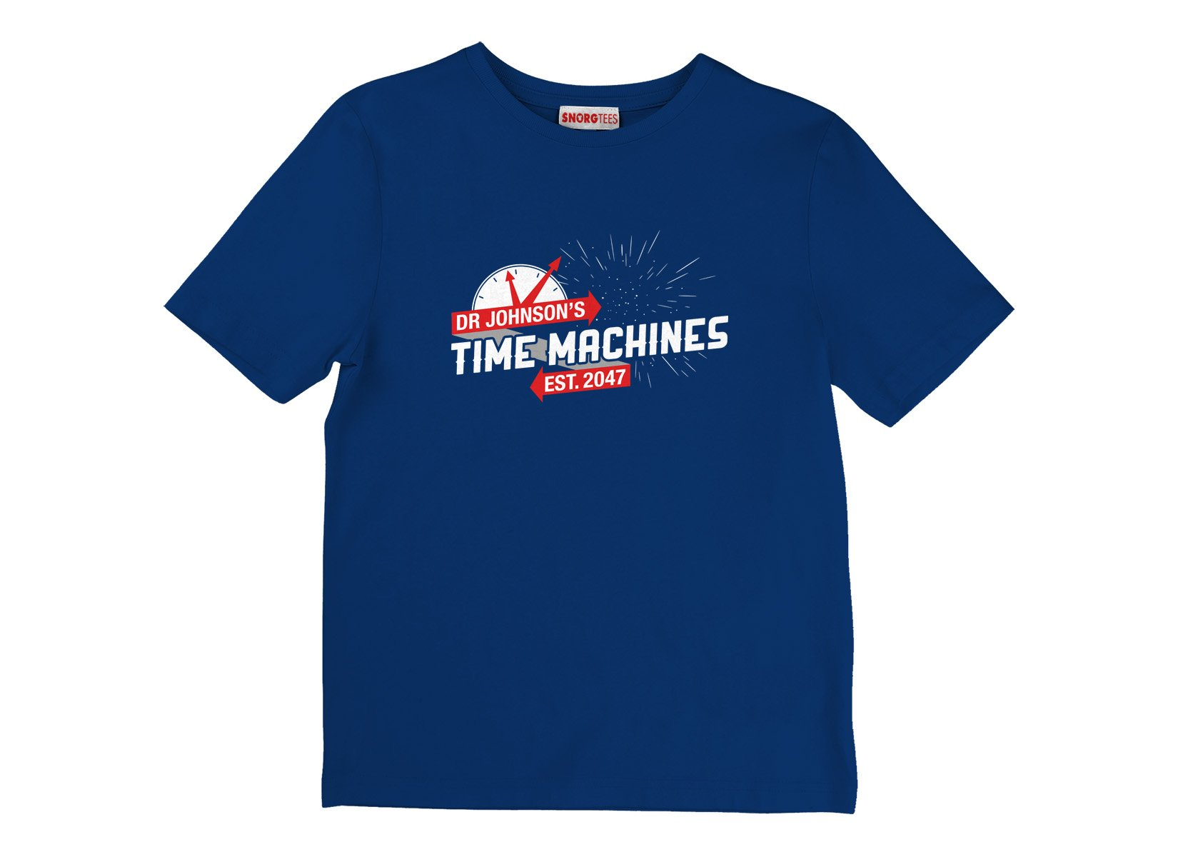 Dr Johnson's Time Machines on Kids T-Shirt