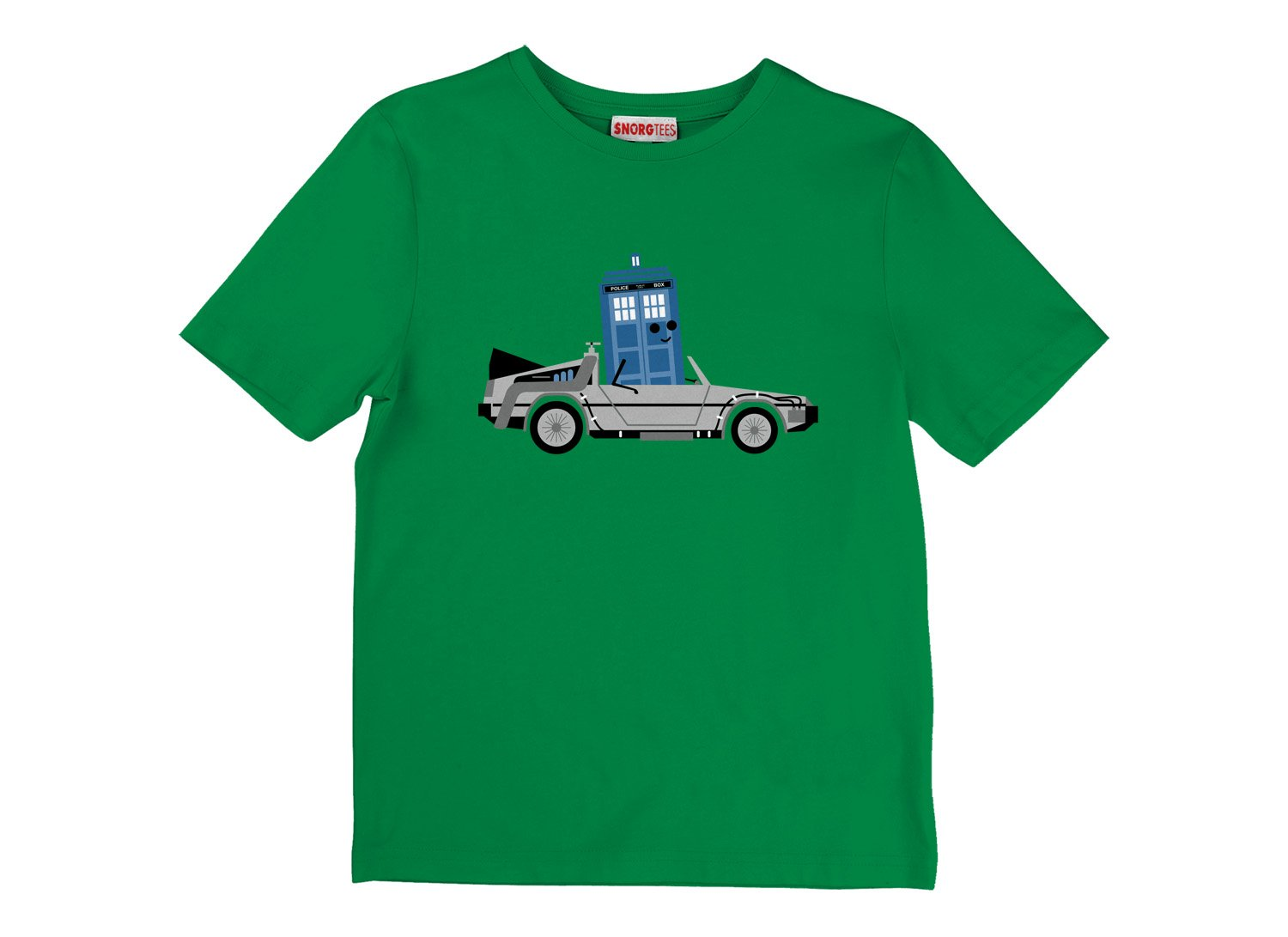 Time Machine x Two on Kids T-Shirt