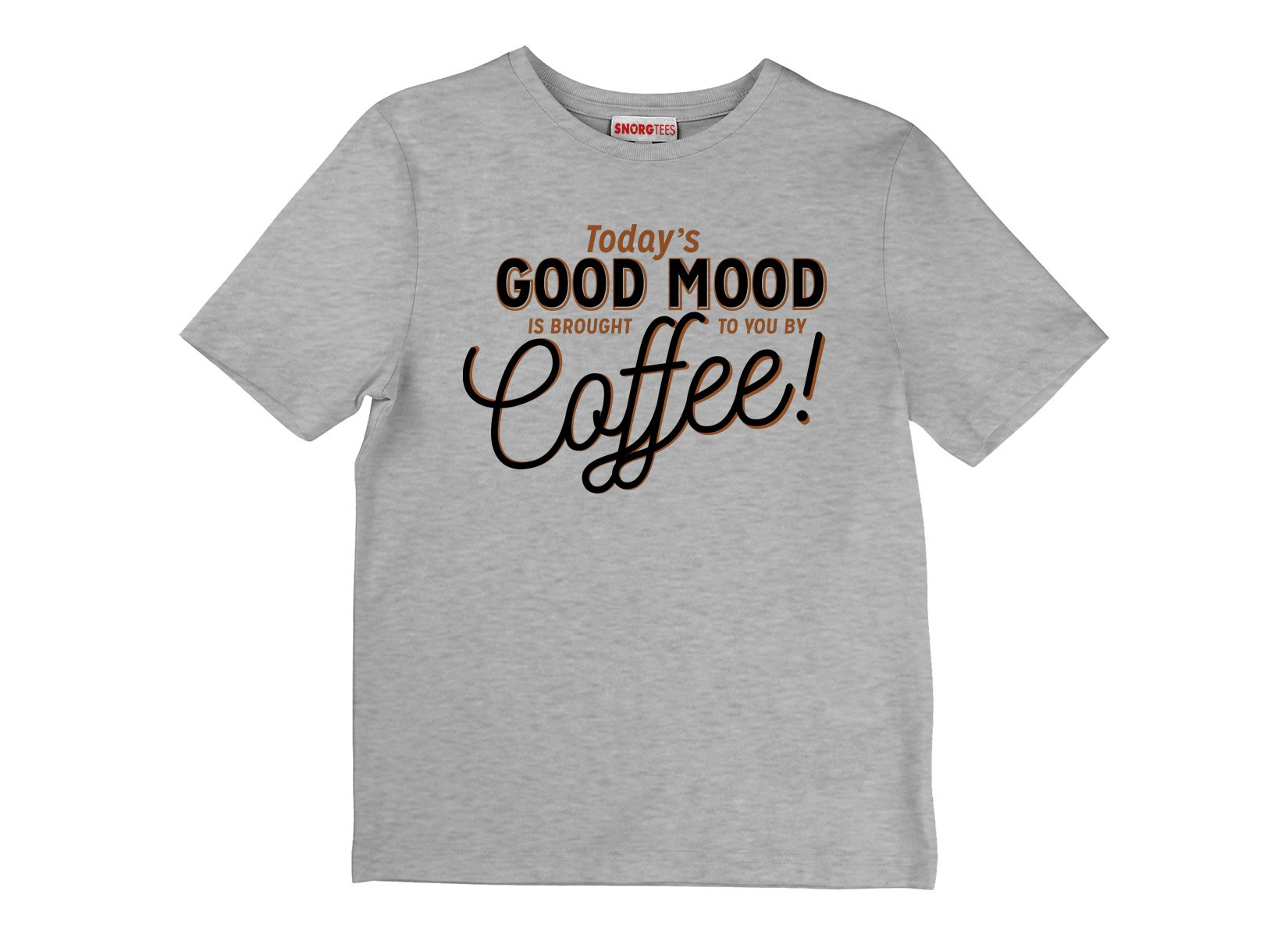 Today's Good Mood on Kids T-Shirt