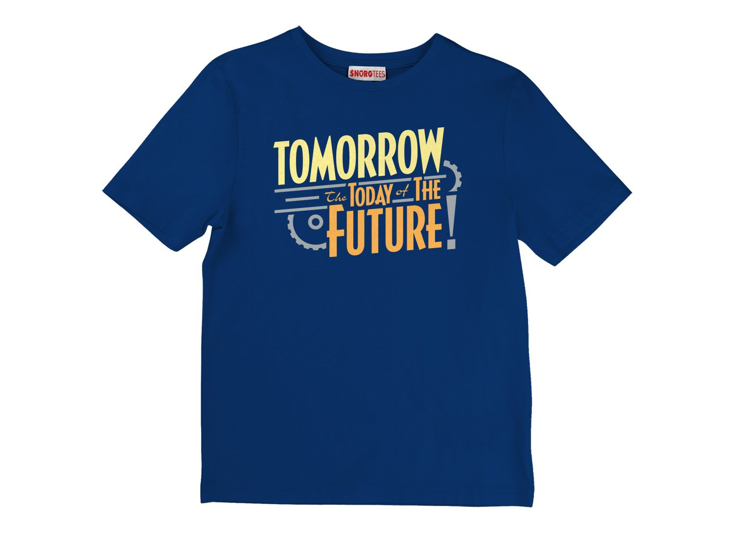 Tomorrow, The Today Of The Future on Kids T-Shirt