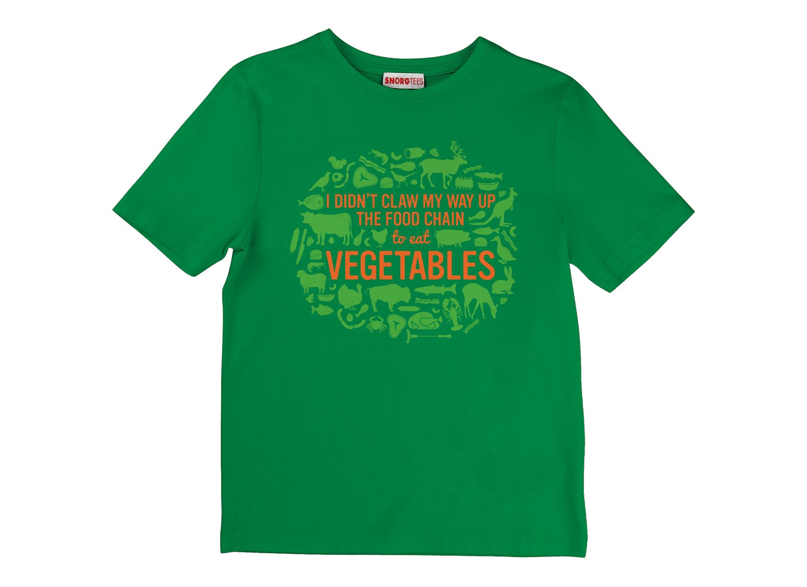 Top Of The Food Chain on Kids T-Shirt