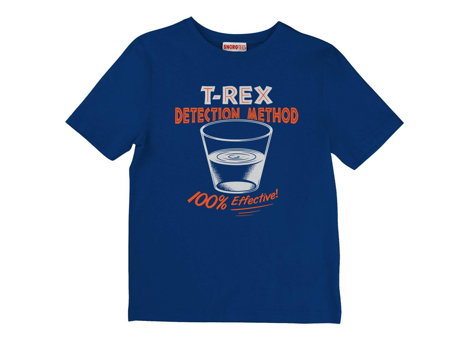 T-Rex Detection Method on Kids T-Shirt