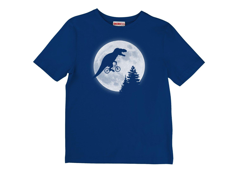 T-Rex Moon on Kids T-Shirt
