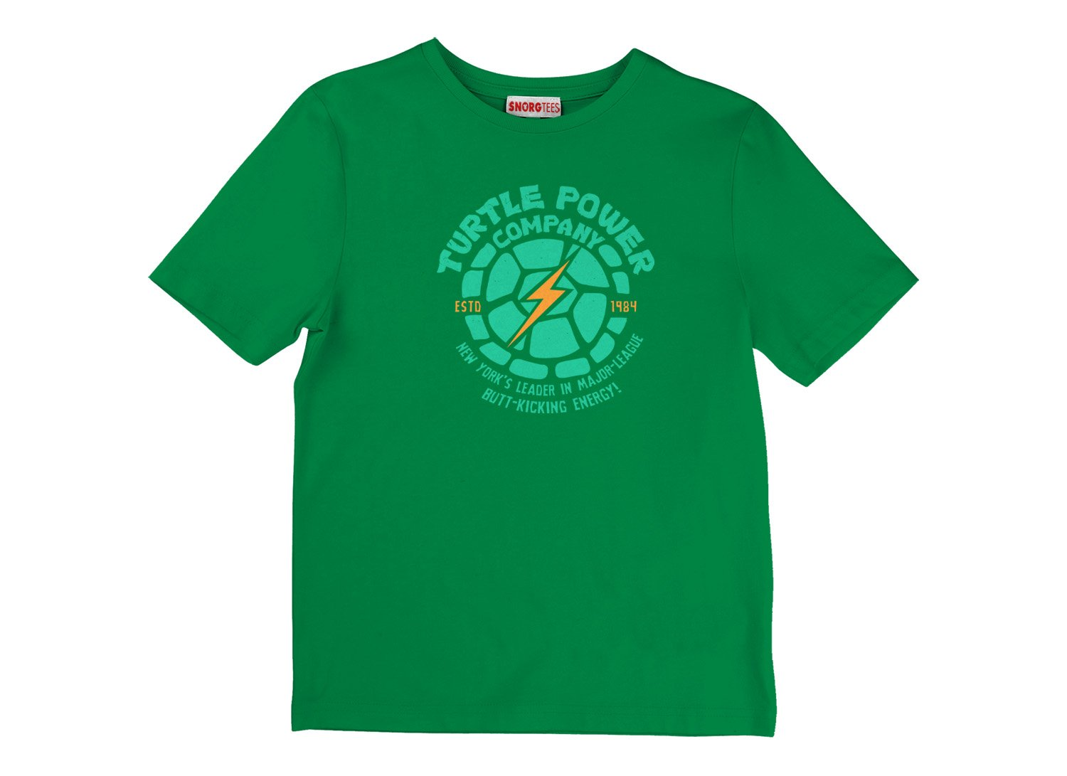 Turtle Power Company on Kids T-Shirt