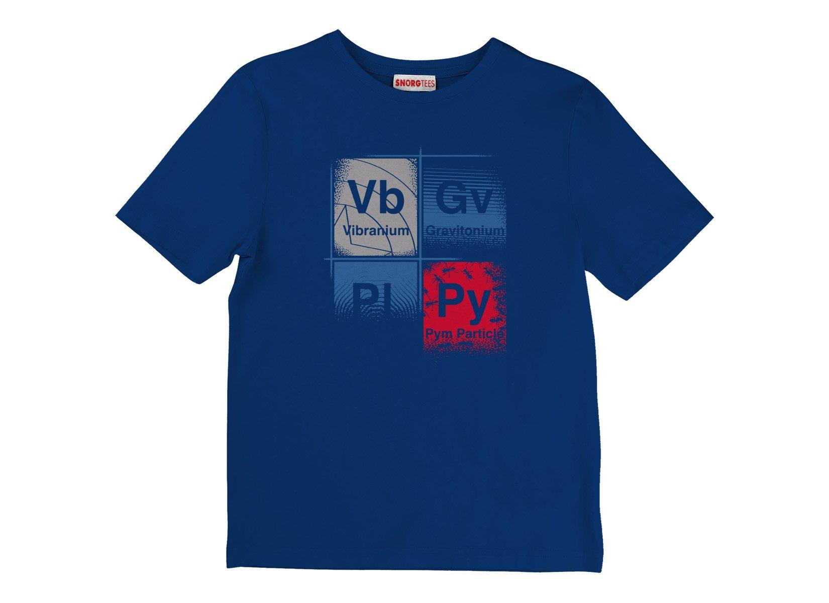 Vibranium on Kids T-Shirt