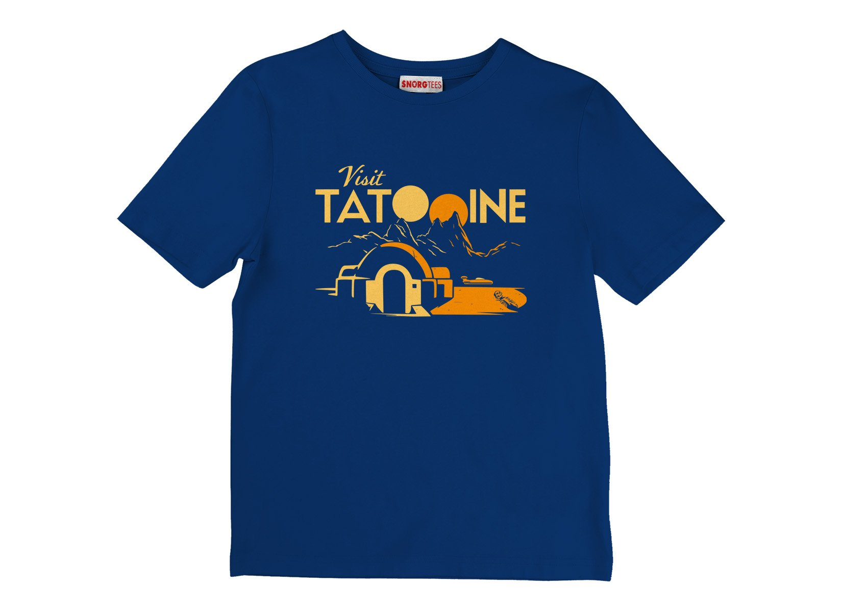 Visit Tatooine on Kids T-Shirt