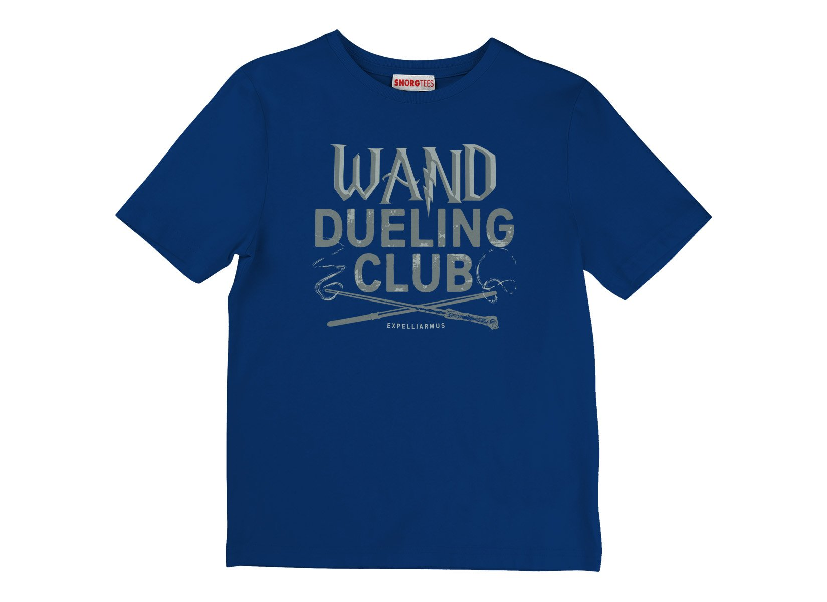 Wand Dueling Club on Kids T-Shirt