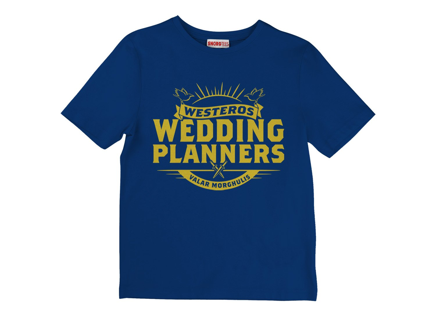 Westeros Wedding Planners on Kids T-Shirt