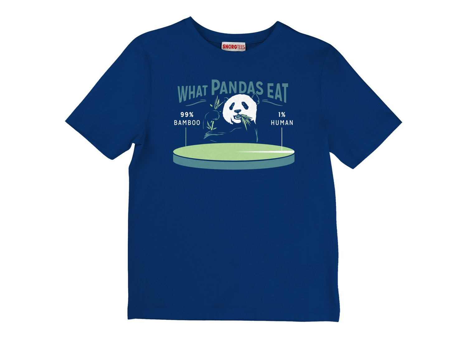 What Pandas Eat on Kids T-Shirt