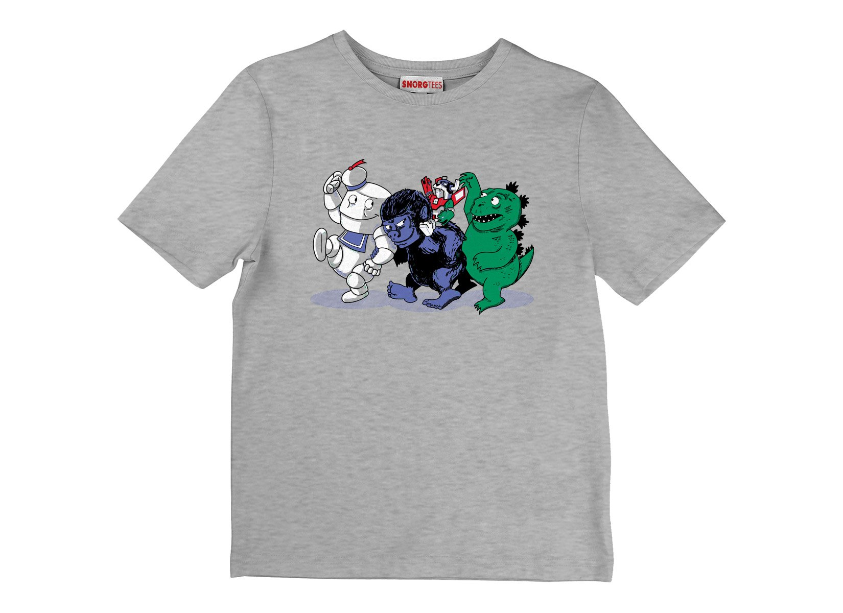 Where The Monsters Are on Kids T-Shirt