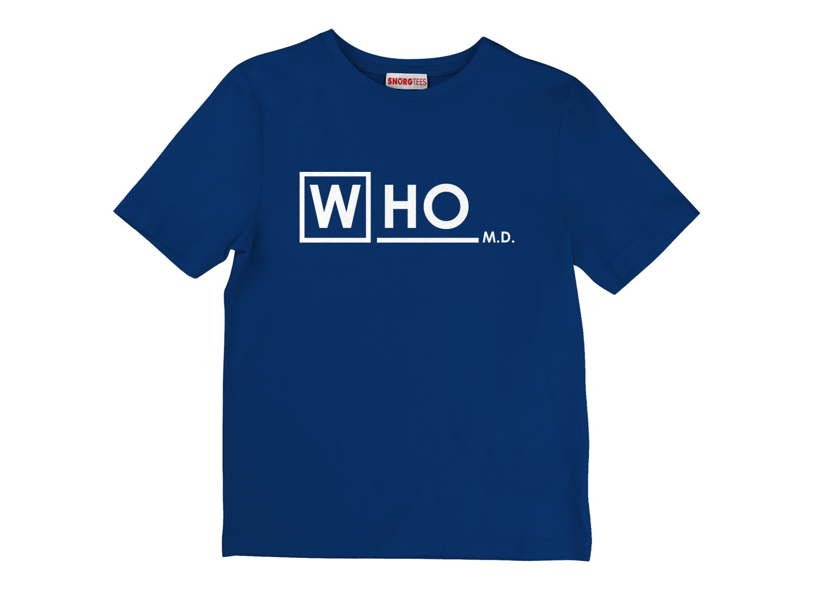 Who MD on Kids T-Shirt