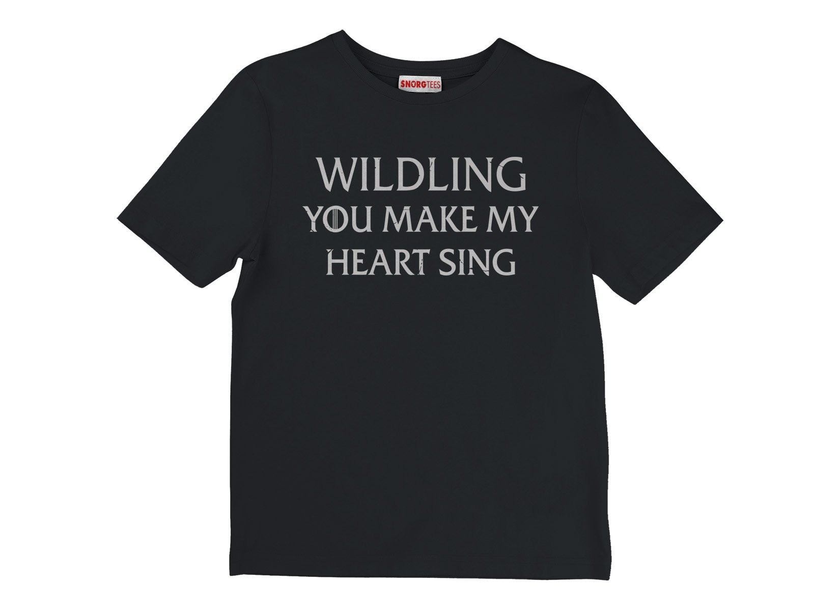 Wildling You Make My Heart Sing on Kids T-Shirt