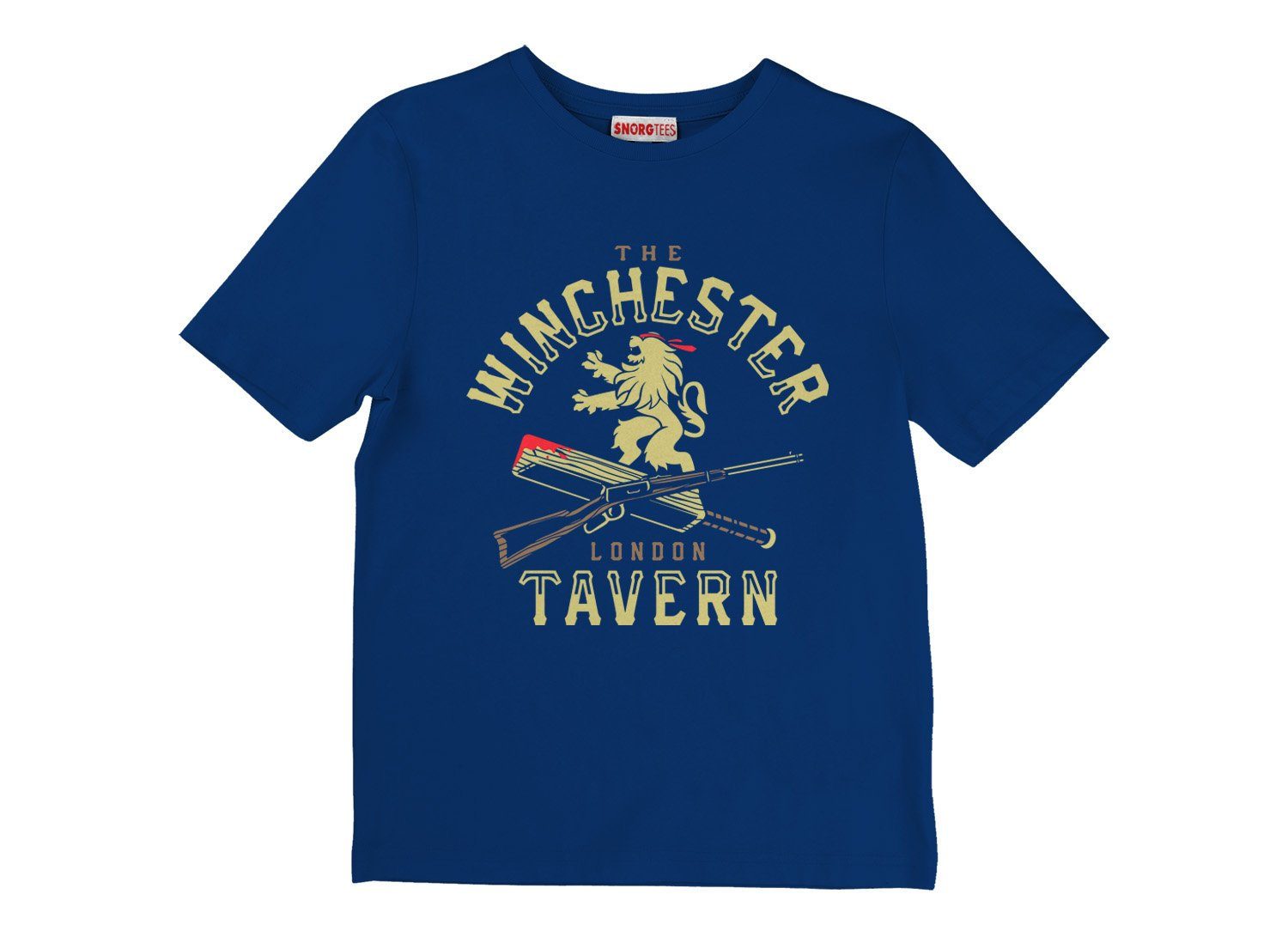 The Winchester Tavern on Kids T-Shirt