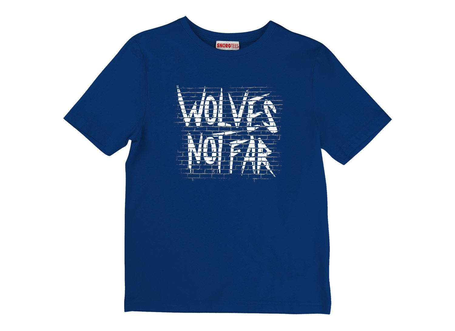 Wolves Not Far on Kids T-Shirt