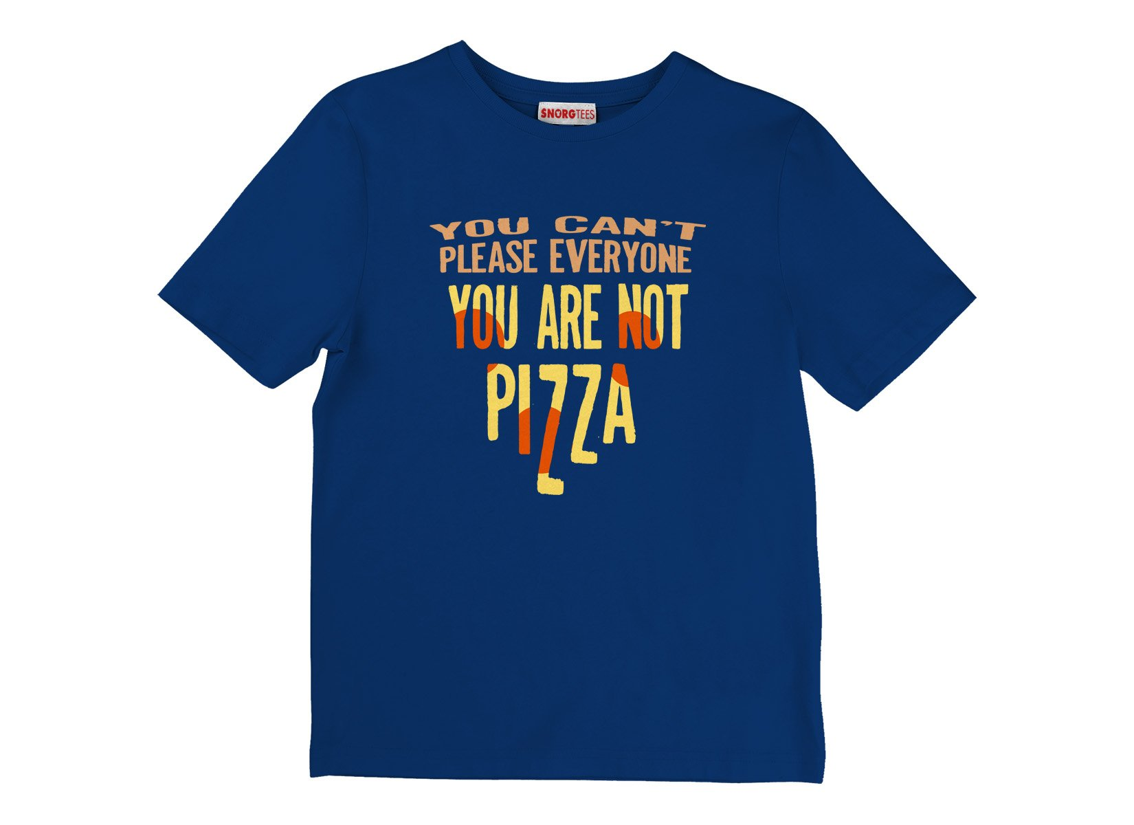 You Are Not Pizza on Kids T-Shirt