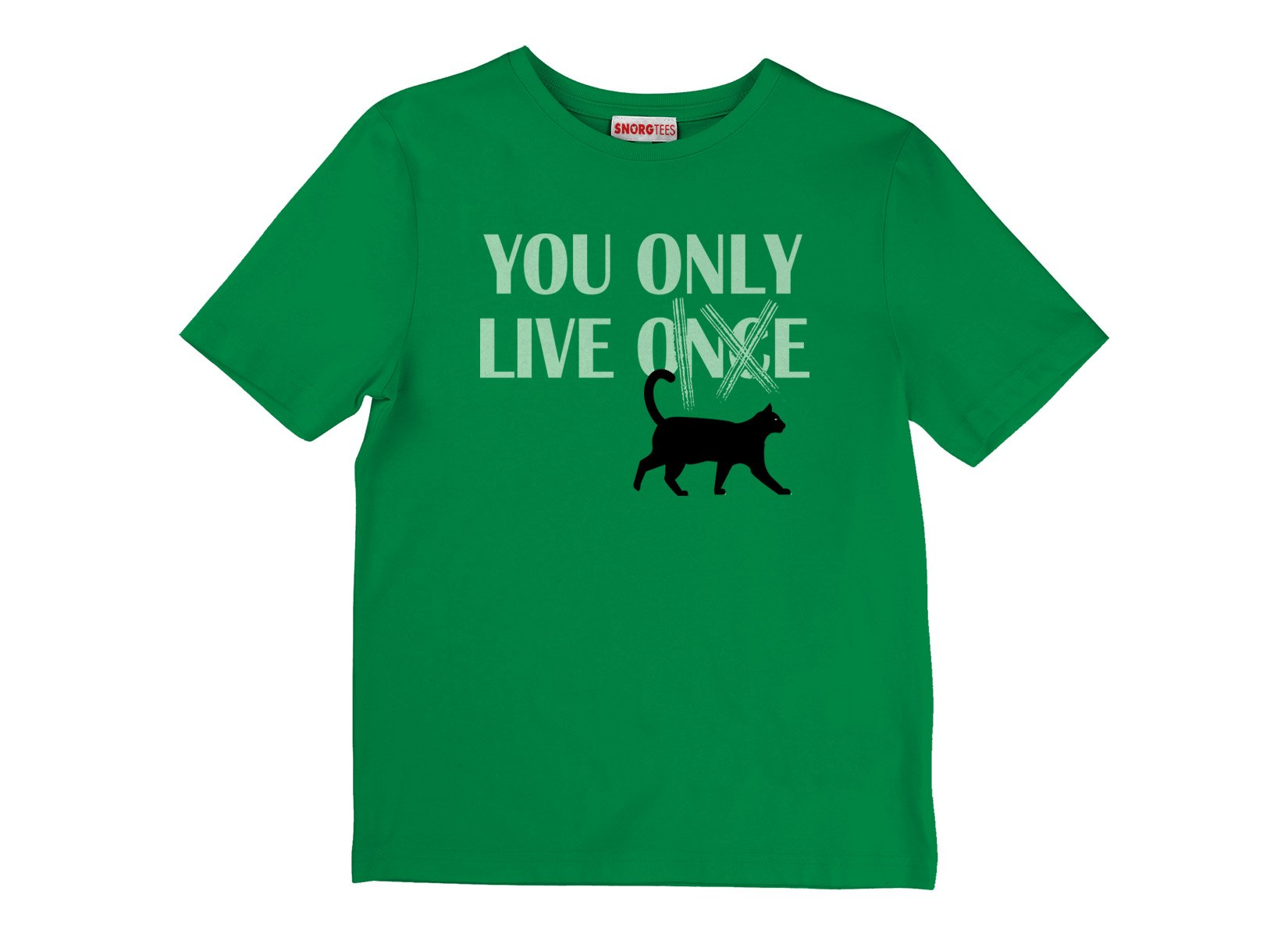 You Only Live 9 on Kids T-Shirt