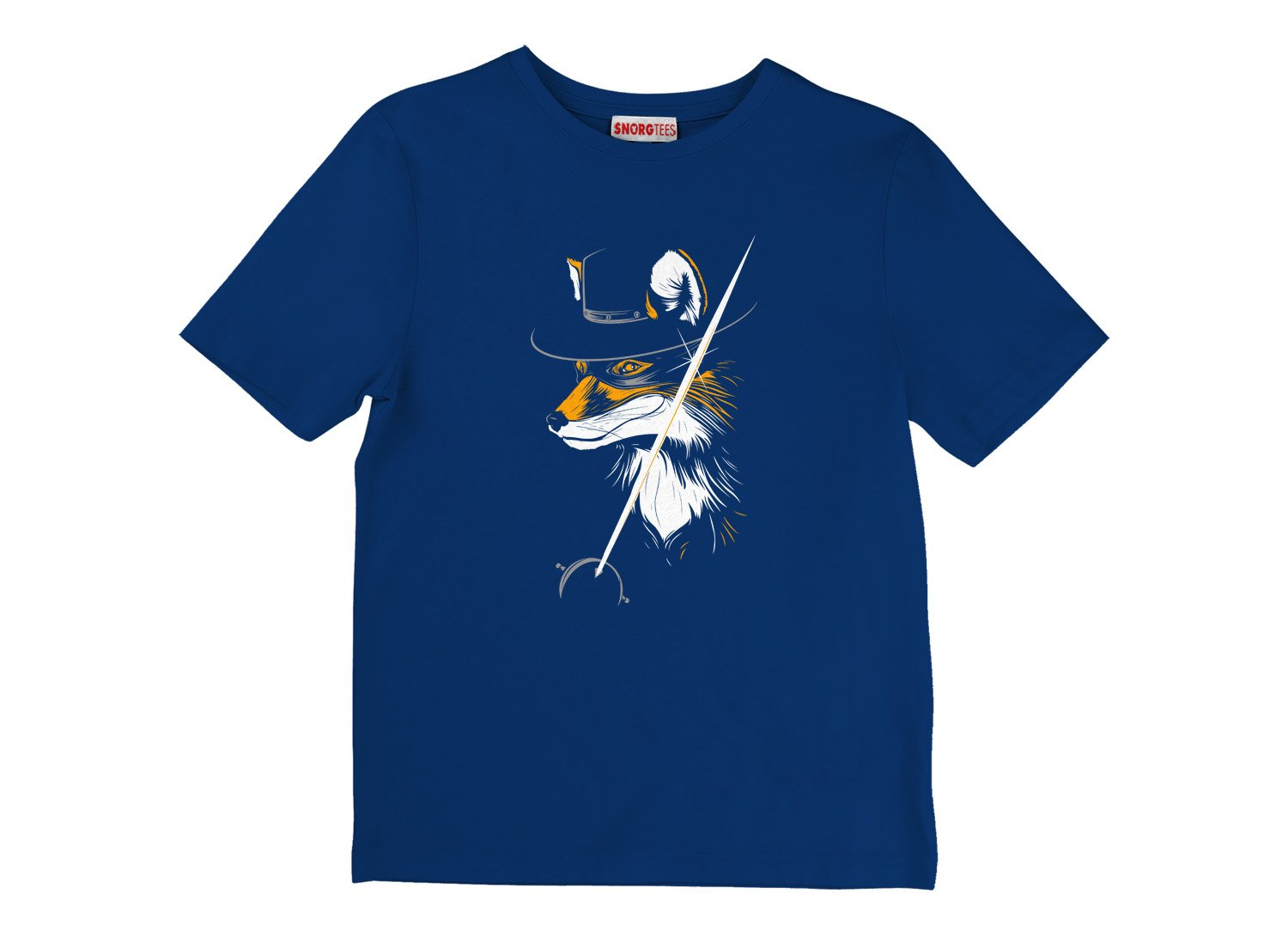 The Fox on Kids T-Shirt