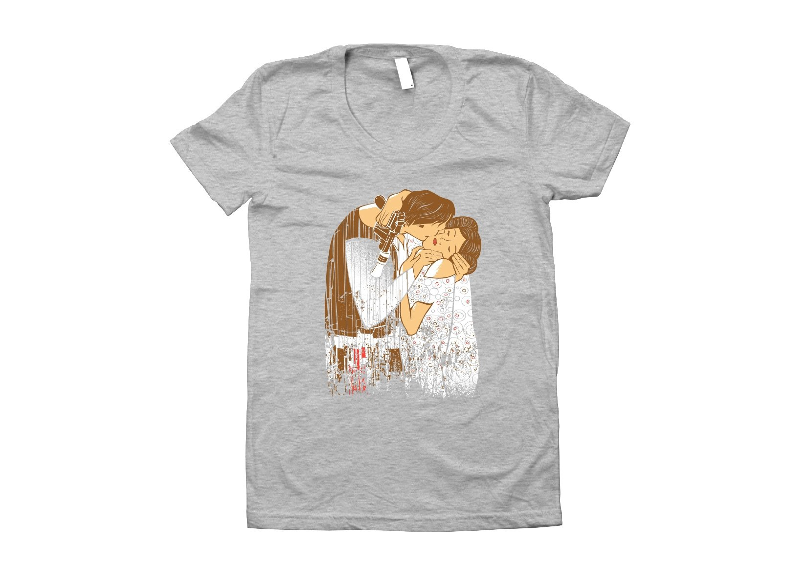 The Kiss on Juniors T-Shirt