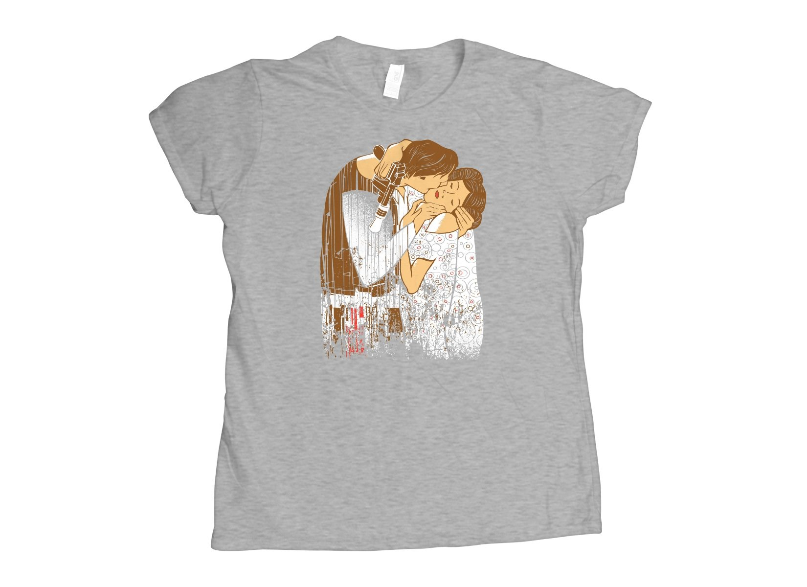 The Kiss on Womens T-Shirt