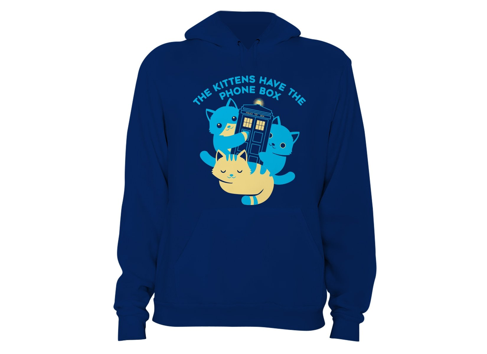 The Kittens Have The Phone Box on Hoodie