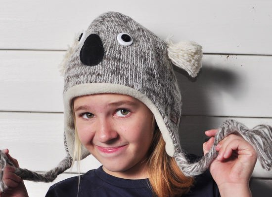 Kirby The Koala Hat on Mens Hats