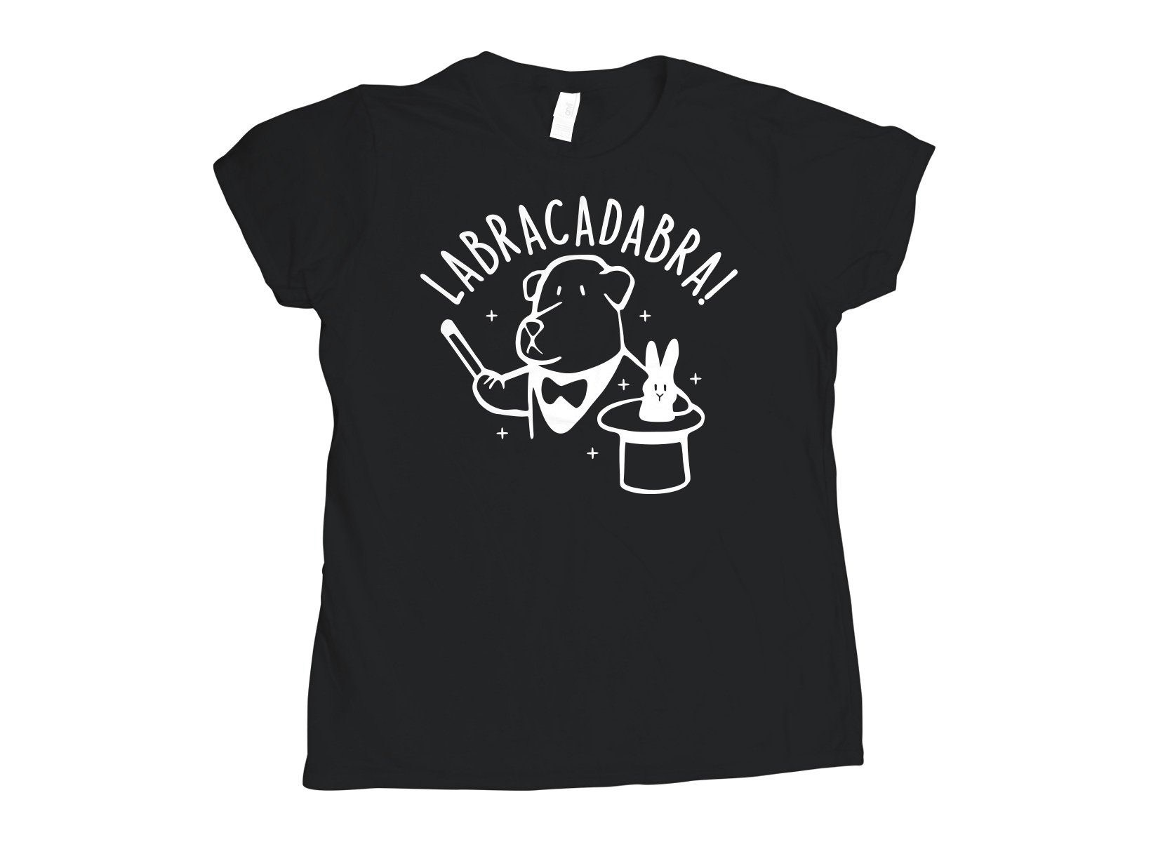 Labracadabra on Womens T-Shirt
