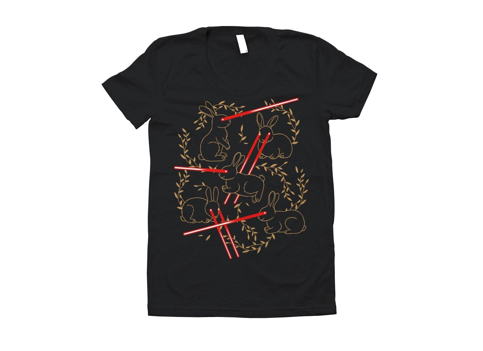 Laser Buns on Juniors T-Shirt