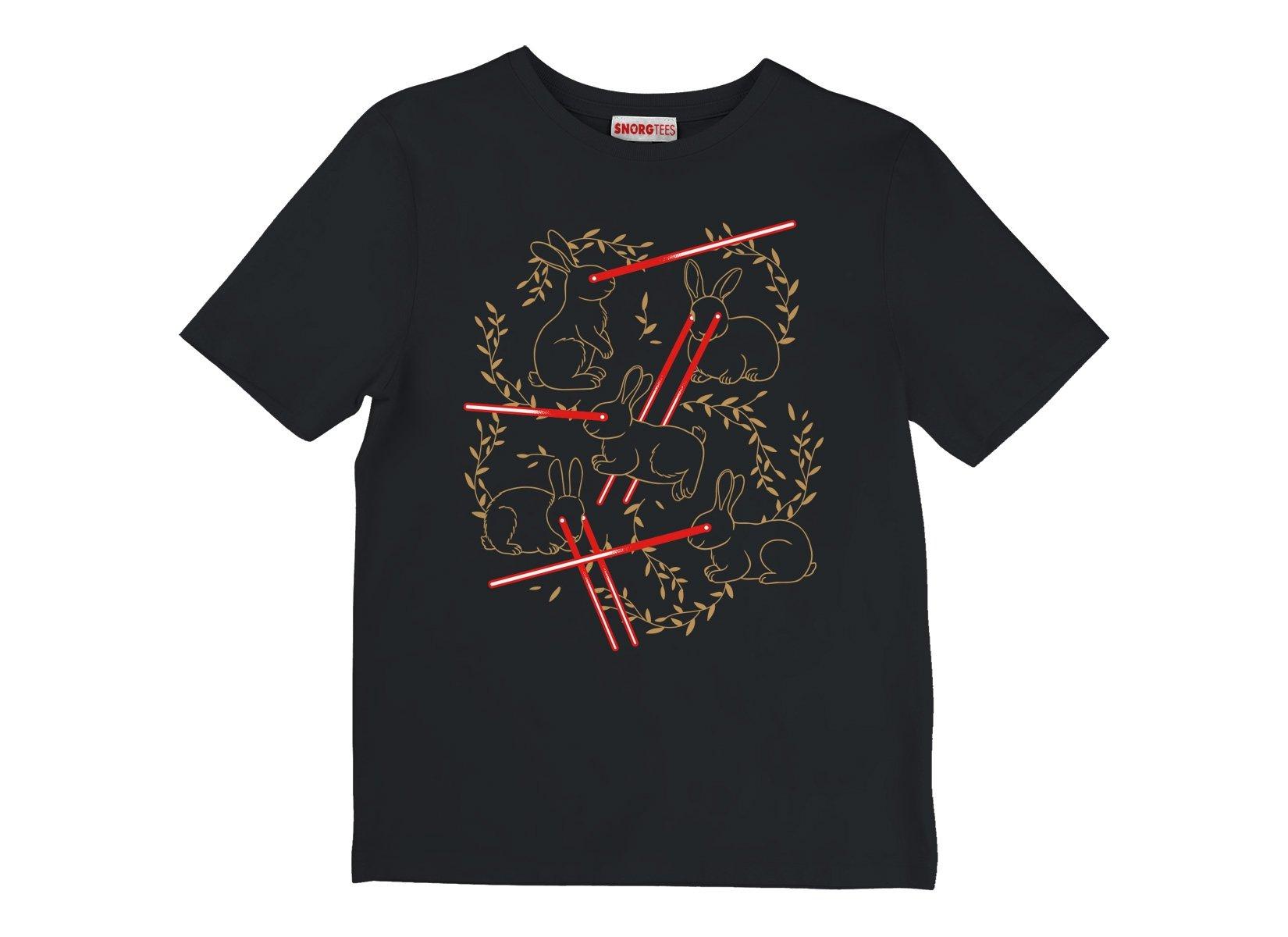 Laser Buns on Kids T-Shirt