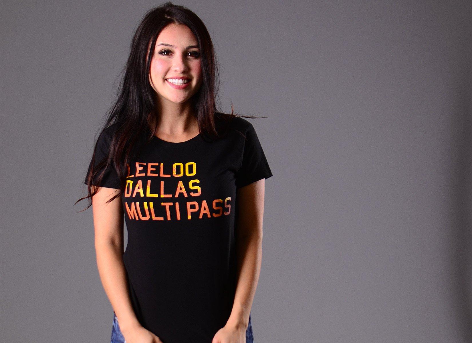 Leeloo Dallas Multipass on Womens T-Shirt