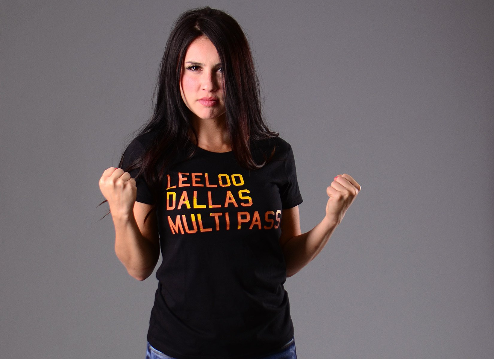 Leeloo Dallas Multipass on Womens T-Shirt