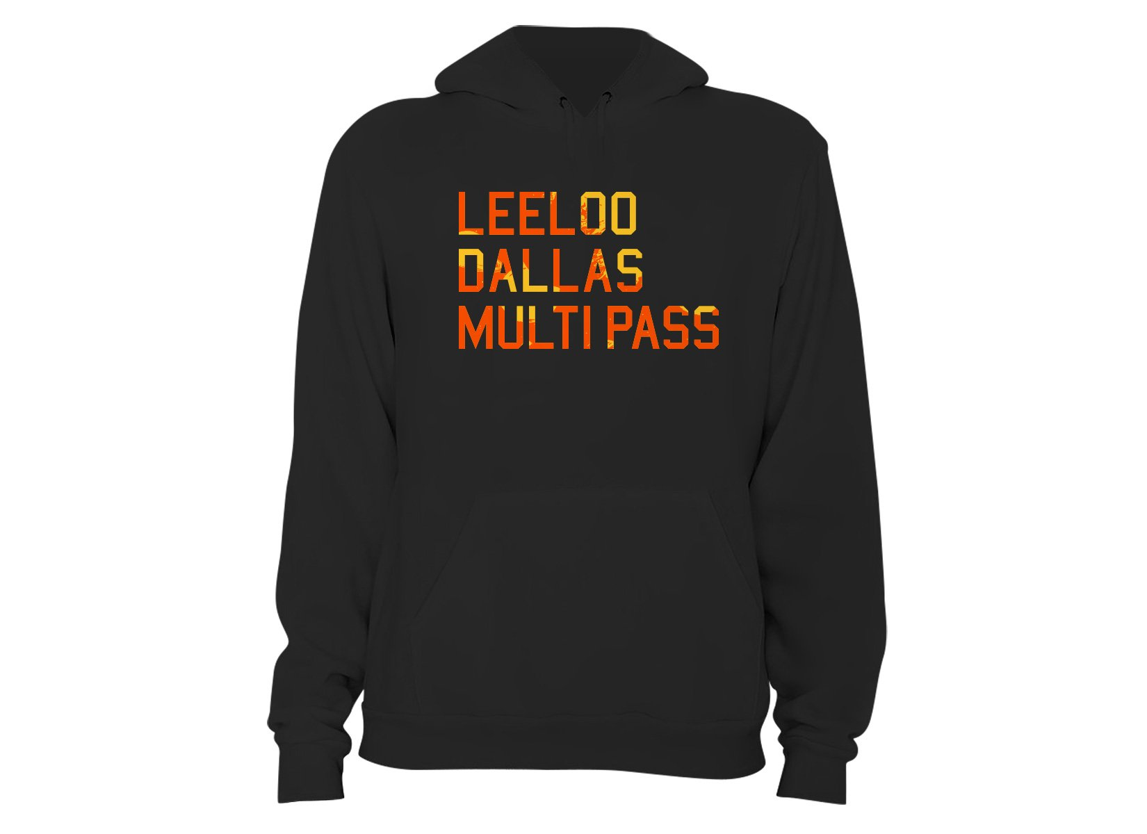 Leeloo Dallas Multipass on Hoodie