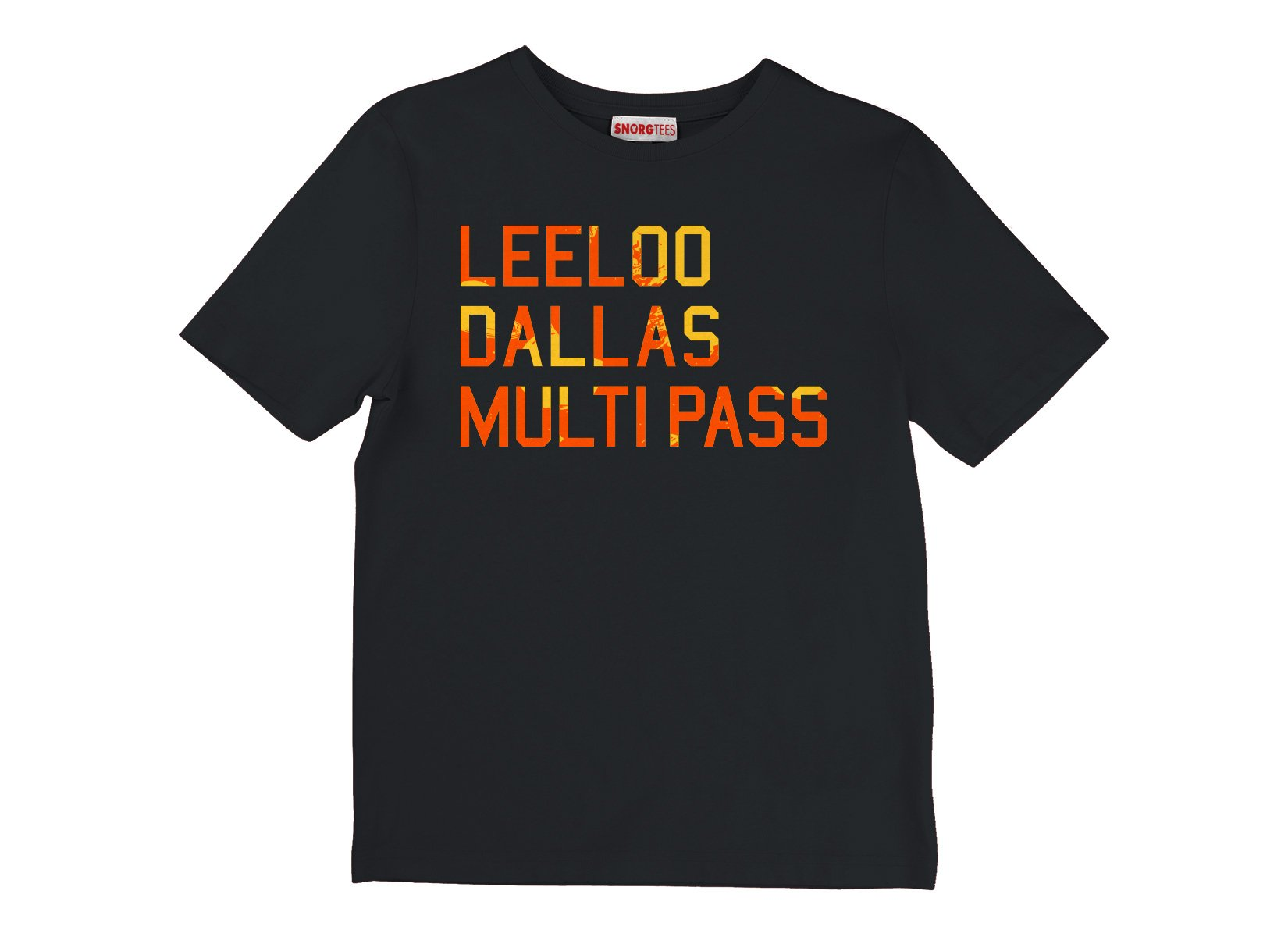 Leeloo Dallas Multipass on Kids T-Shirt