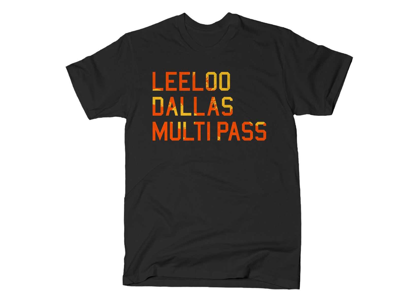 Leeloo Dallas Multipass on Mens T-Shirt