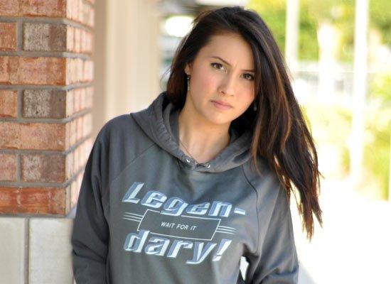 Legen-Dary on Hoodie