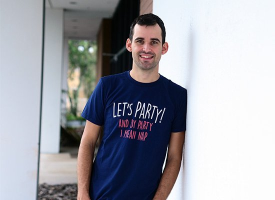 Let's Party! And By Party I Mean Nap on Mens T-Shirt