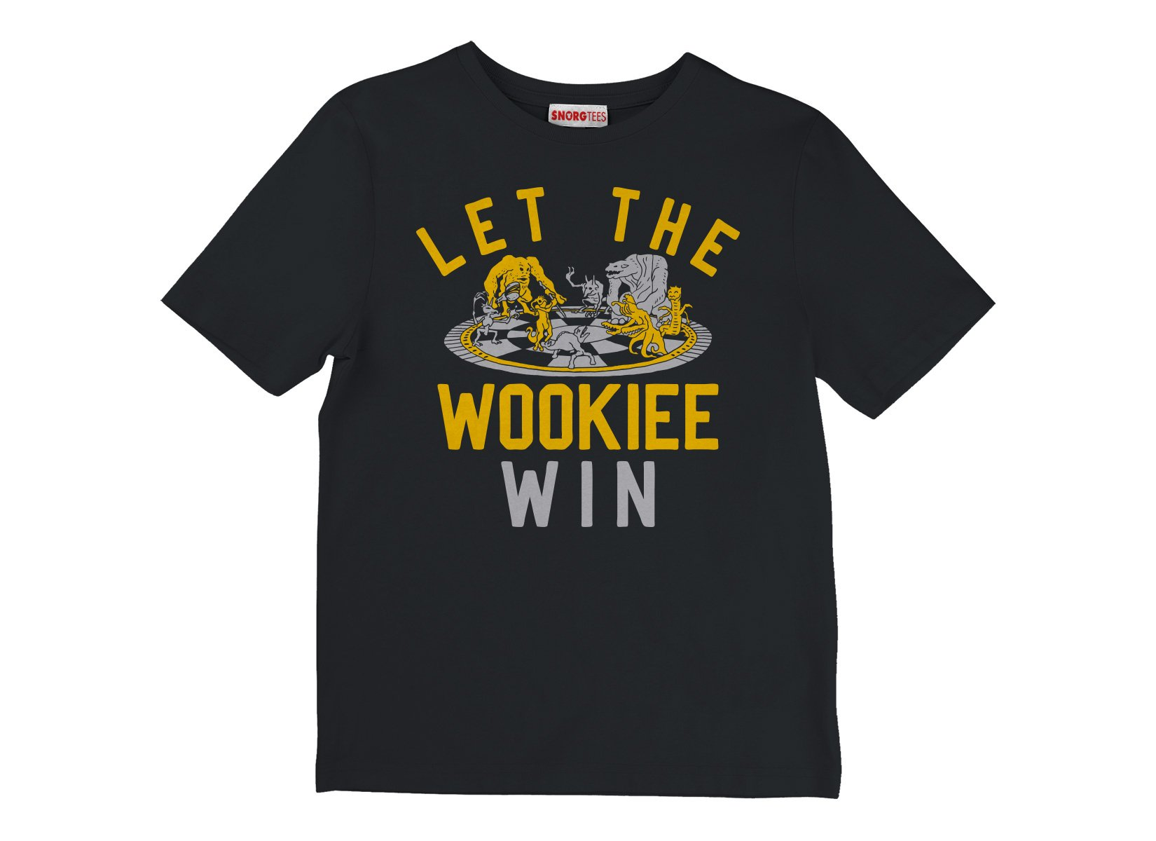 Let The Wookiee Win on Kids T-Shirt