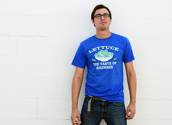 Lettuce, The Taste Of Sadness on Mens T-Shirt
