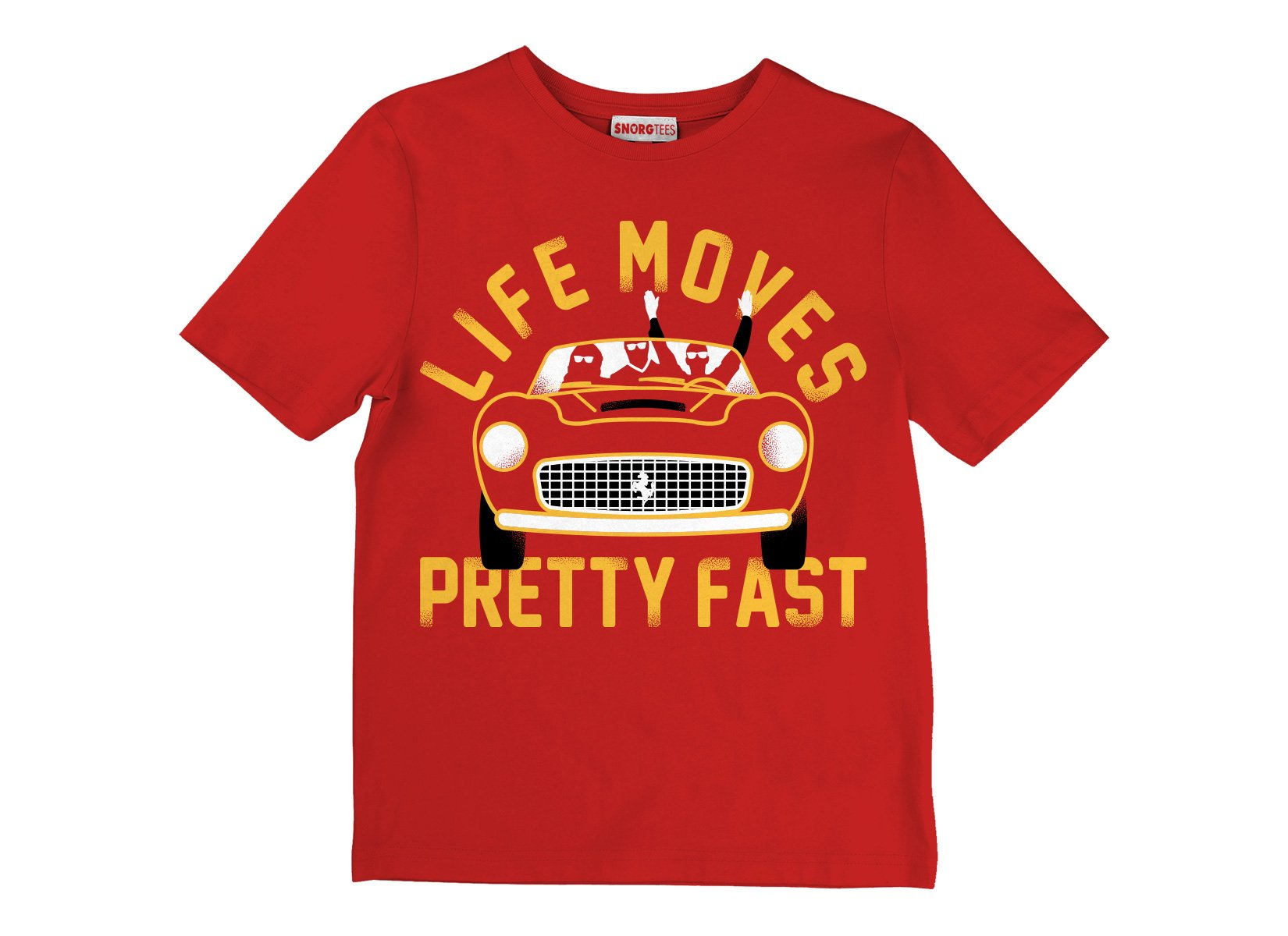 Life Moves Pretty Fast on Kids T-Shirt