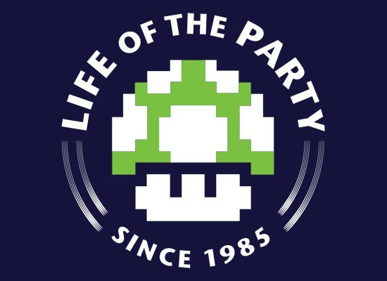 Life Of The Party on Mens T-Shirt