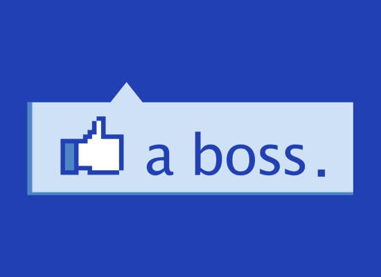 Like A Boss Thumbs Up on Mens T-Shirt