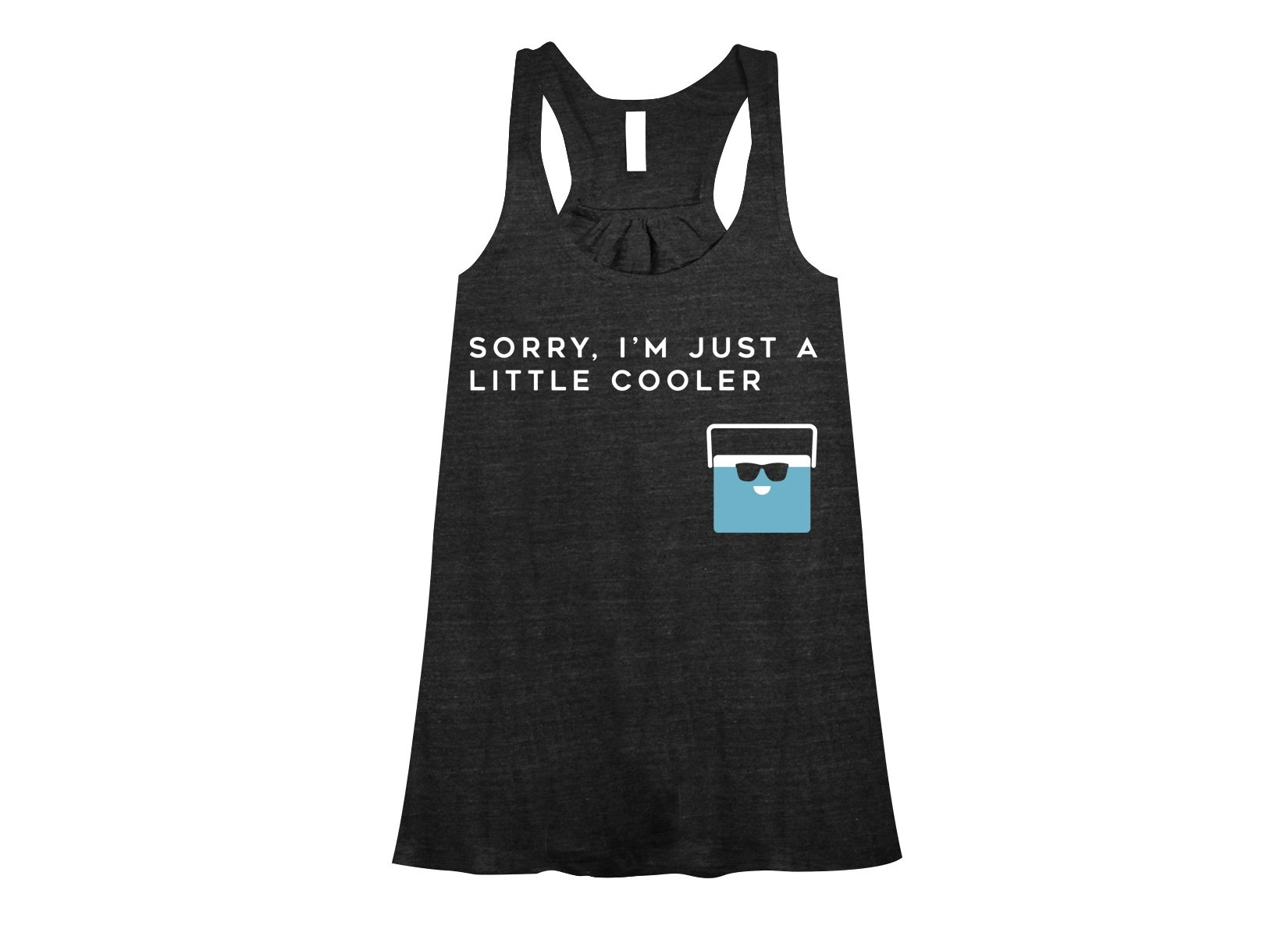 Sorry, I'm Just A Little Cooler on Womens Tanks T-Shirt