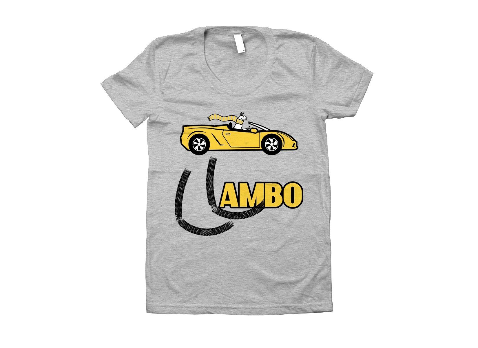 Llambo Llama on Juniors T-Shirt