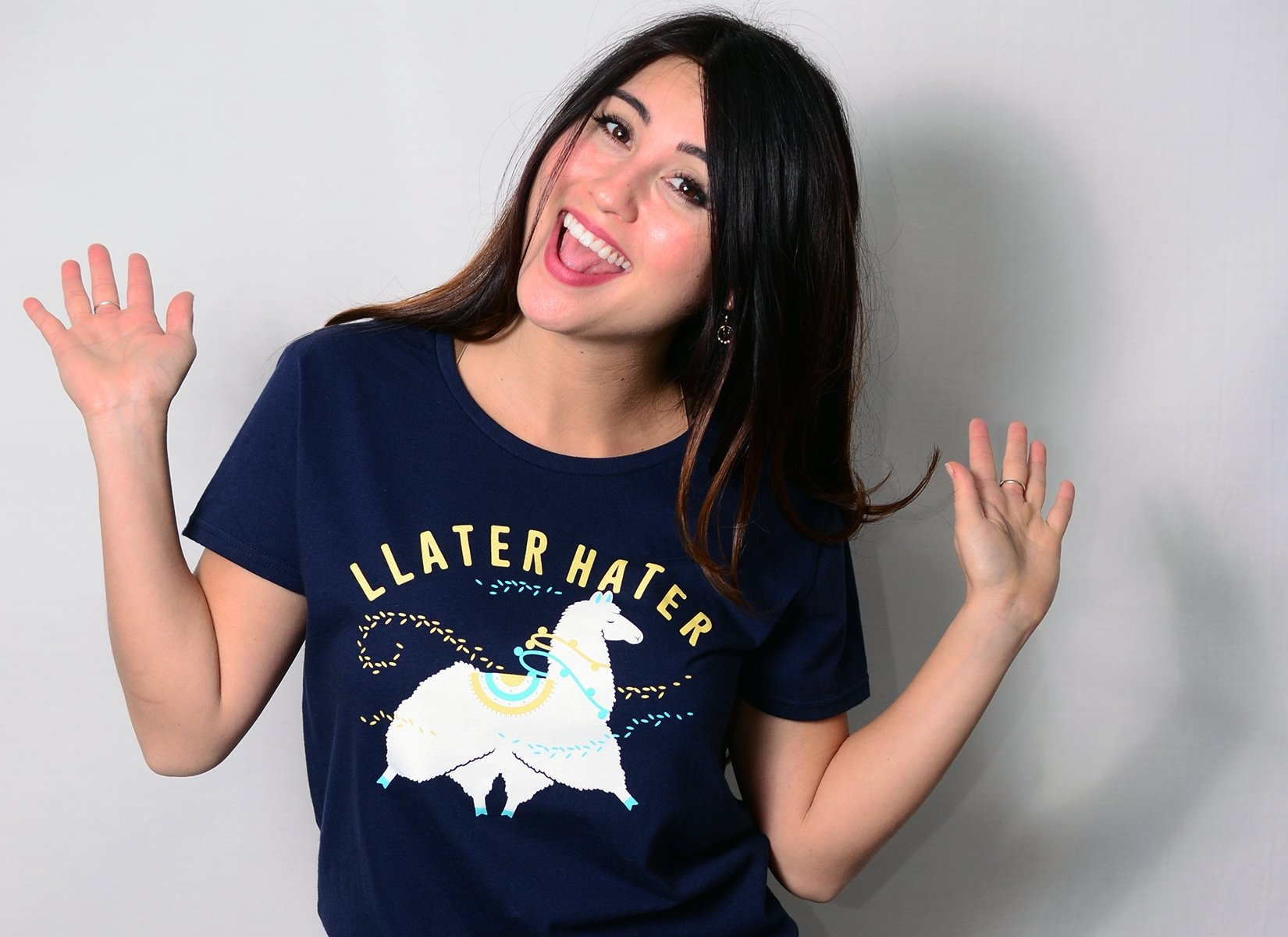 Llater Hater on Womens T-Shirt