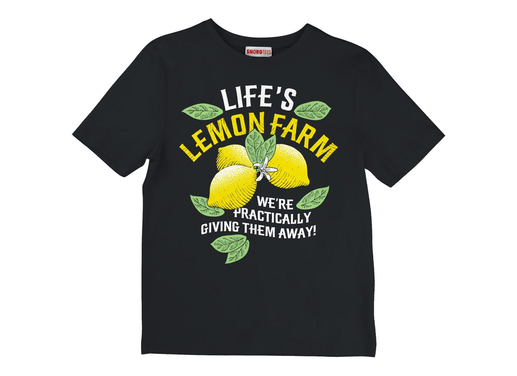 Life's Lemon Farm on Kids T-Shirt