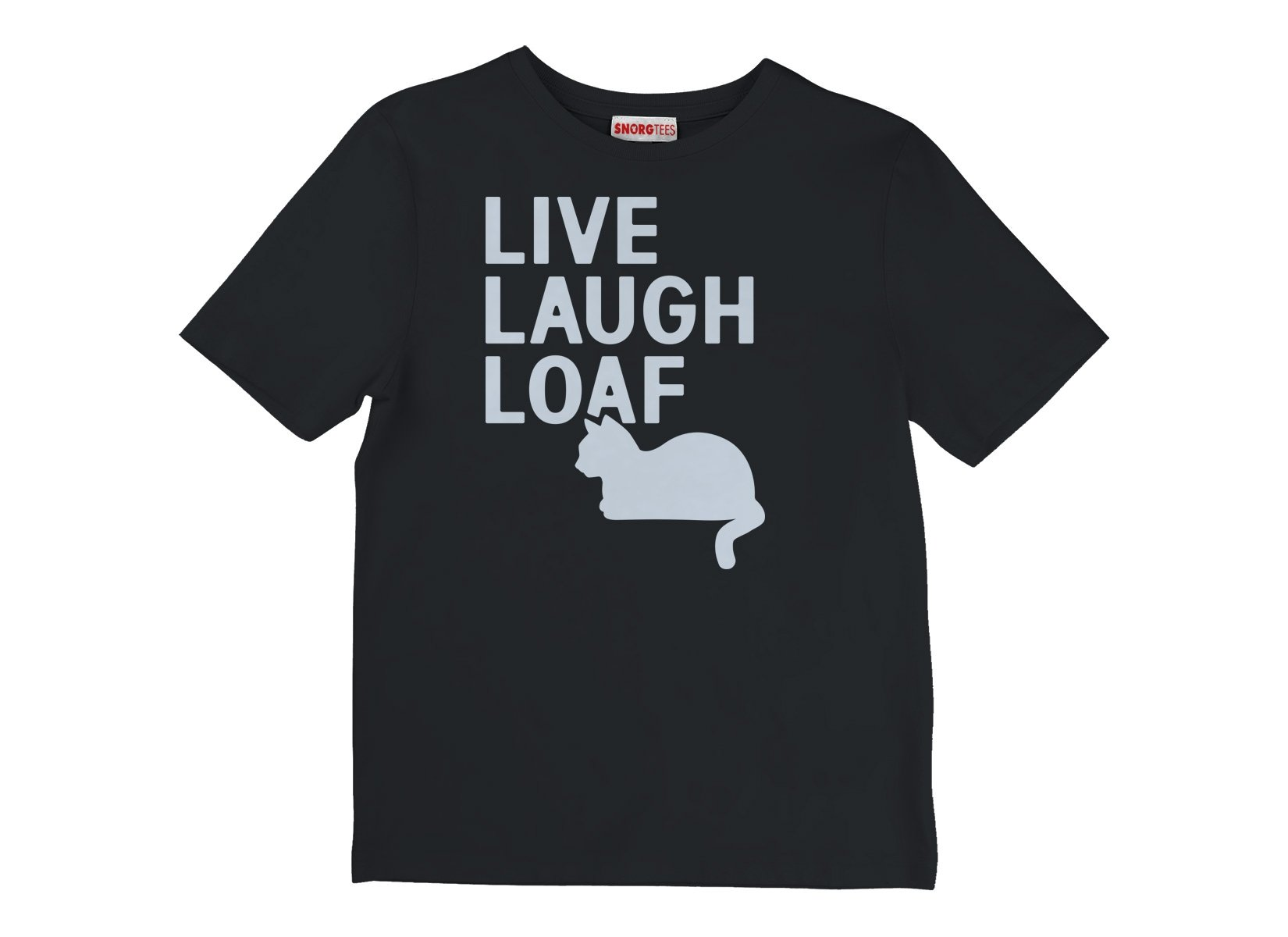 Live Laugh Loaf on Kids T-Shirt